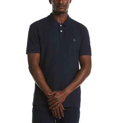 Eco Daddy Polo Shirt In Dark Sapphire