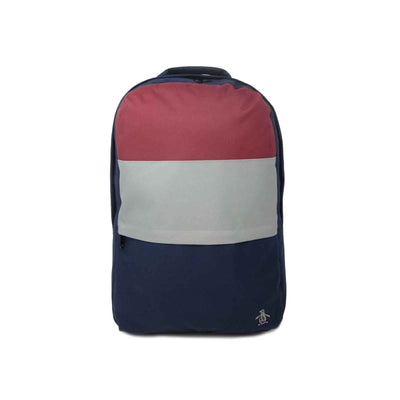 HUME COLOUR BLOCK BACKPACK IN DARK SAPPHIRE