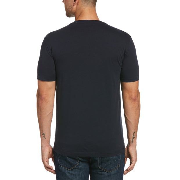 Pocket Short Sleeve T-Shirt In Dark Sapphire