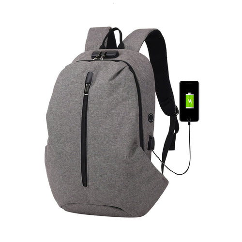 Fashion Multi-functional Anti-Theft Backpack High-capacity Laptop Bag with USB