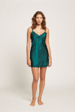 Load image into Gallery viewer, 7002 Silk Chemise pintucks and Lace