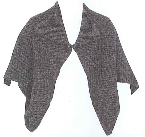 Lothlorian merino/possum short cape