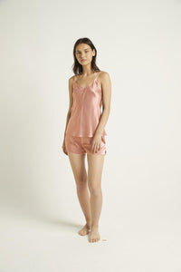9615 Silk V neck camisole