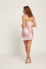 Load image into Gallery viewer, GPM301 Silk Chemise with Lace