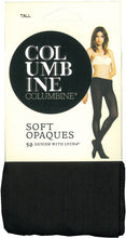 Load image into Gallery viewer, Columbine Opaque 50 denier pantyhose 106