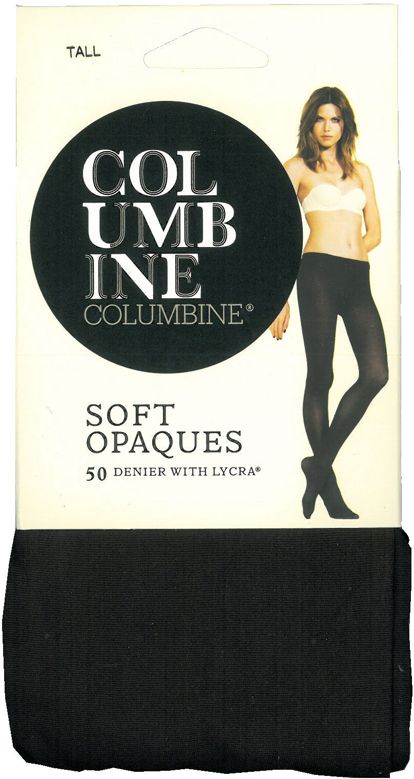 Columbine Opaque 50 denier pantyhose 106