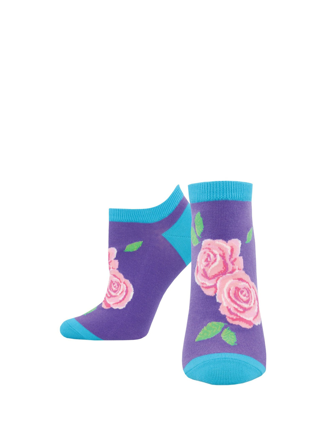 Sock Smith shortie flower socks