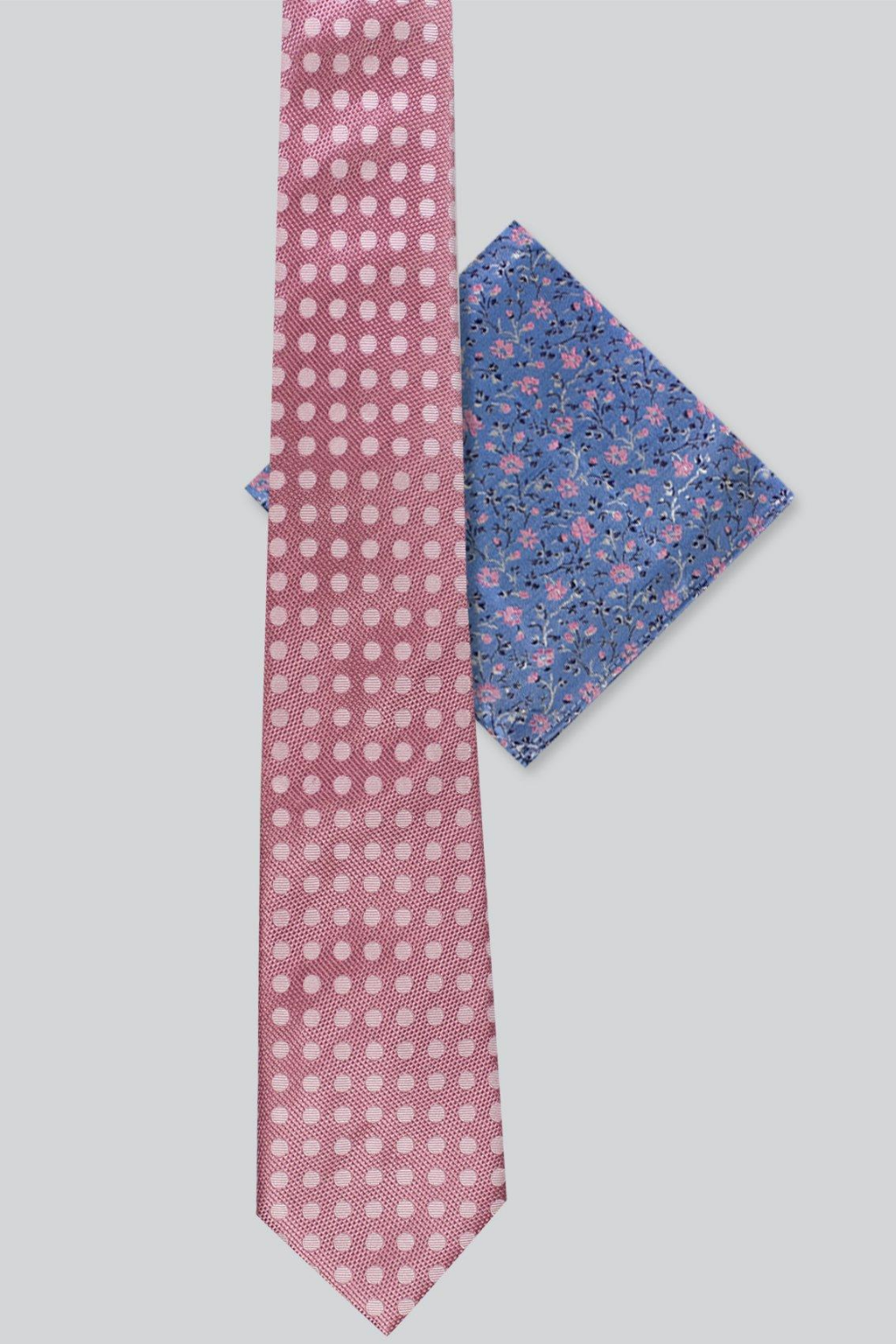 James Harper Spot Tie & Floral Hank