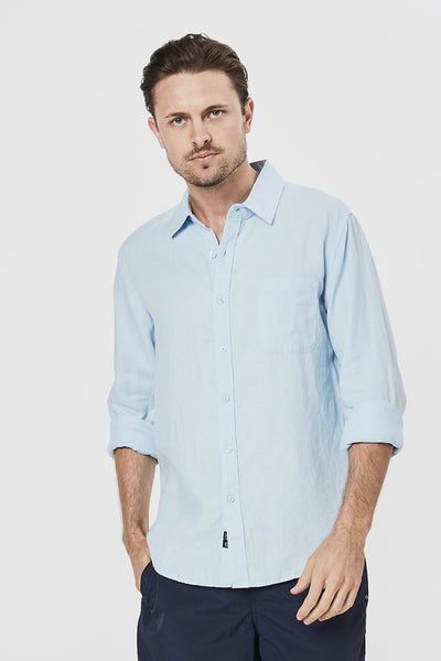 Coast Clothing Long Sleeve Linen Shirt