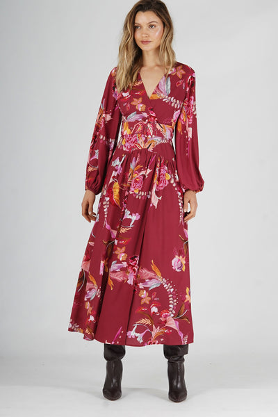 Amelius Cassis Oasis Maxi Dress