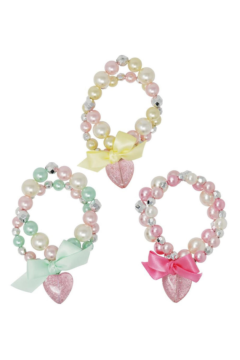 Pink Poppy Sparkle Princess Bracelet