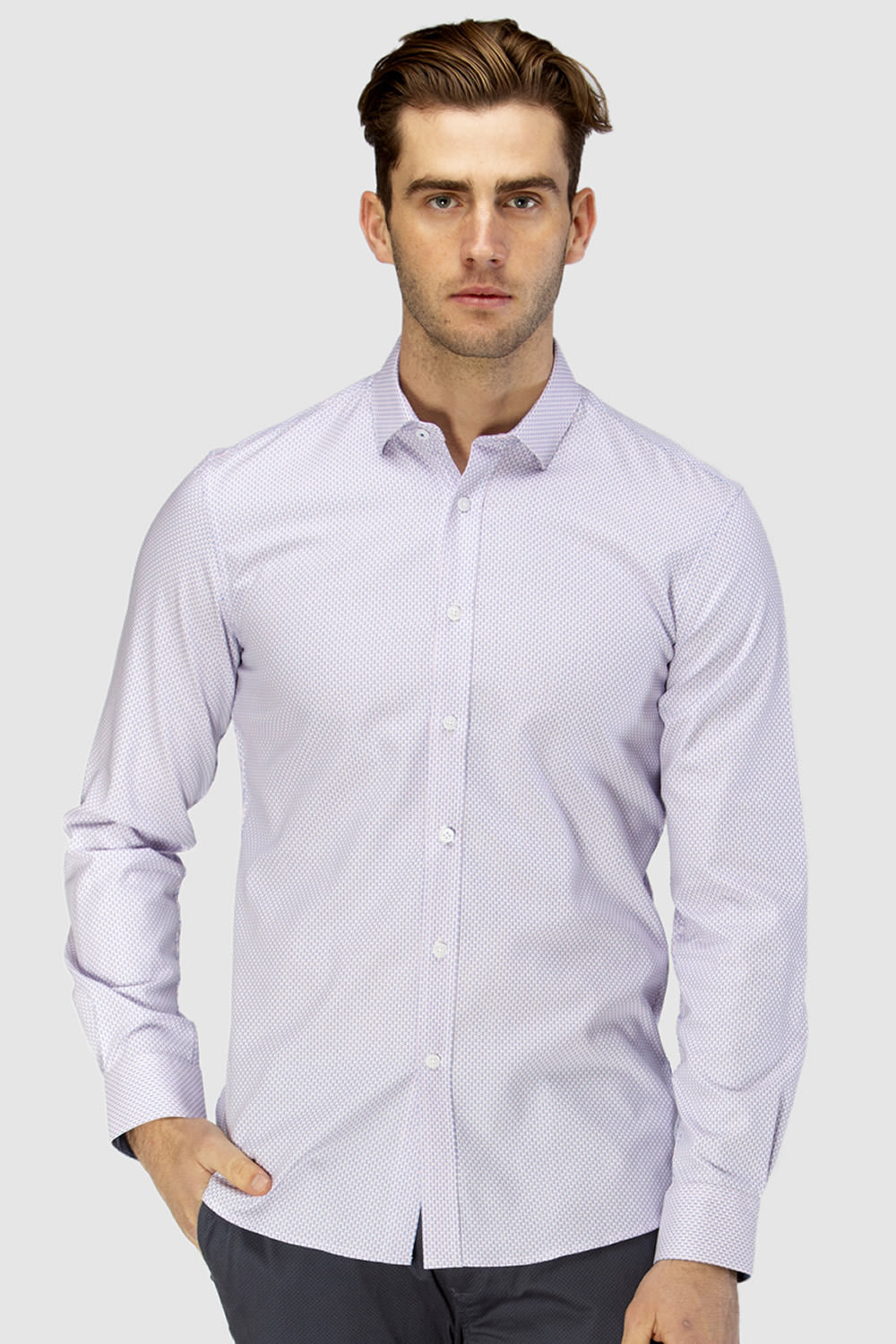 Brooksfield Luxe Micro Dobby Shirt