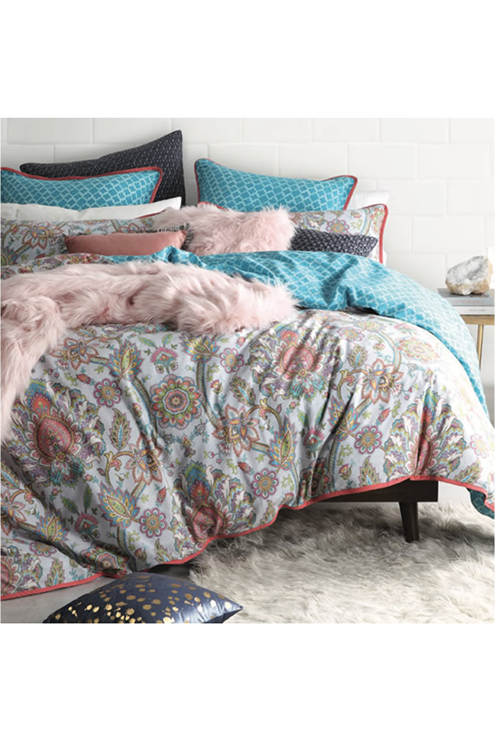 Logan and Mason Bindhi Quilt Cover Set