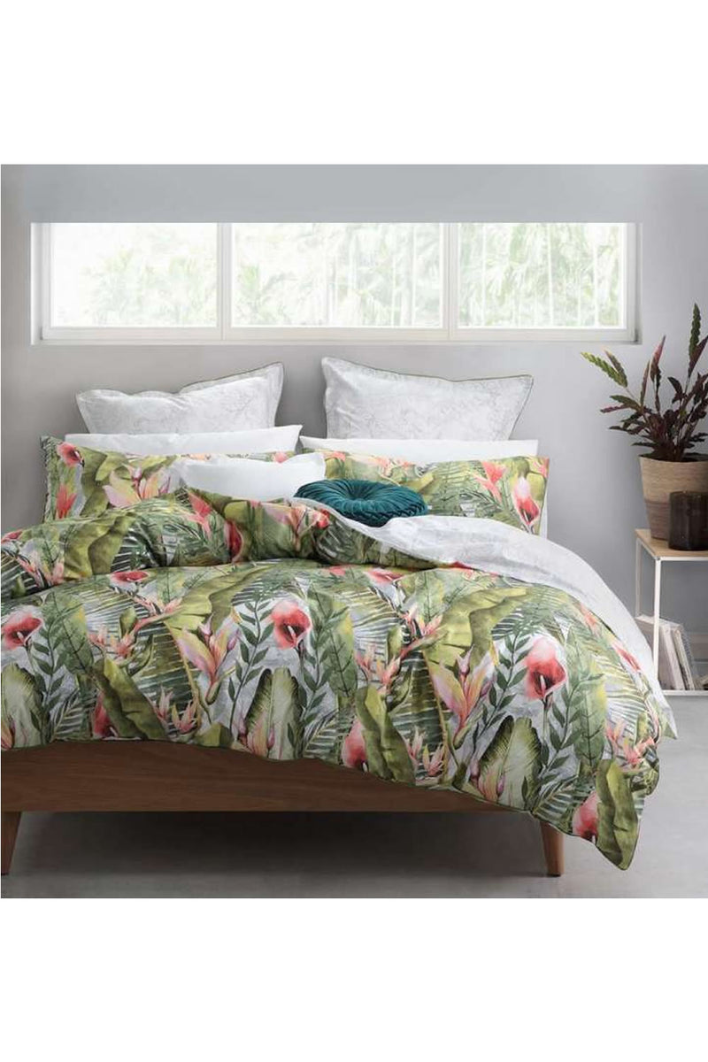 Logan and Mason Kalena Quilt Cover Set