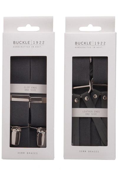 Buckle Fancy X Back Braces 35mm - B73D