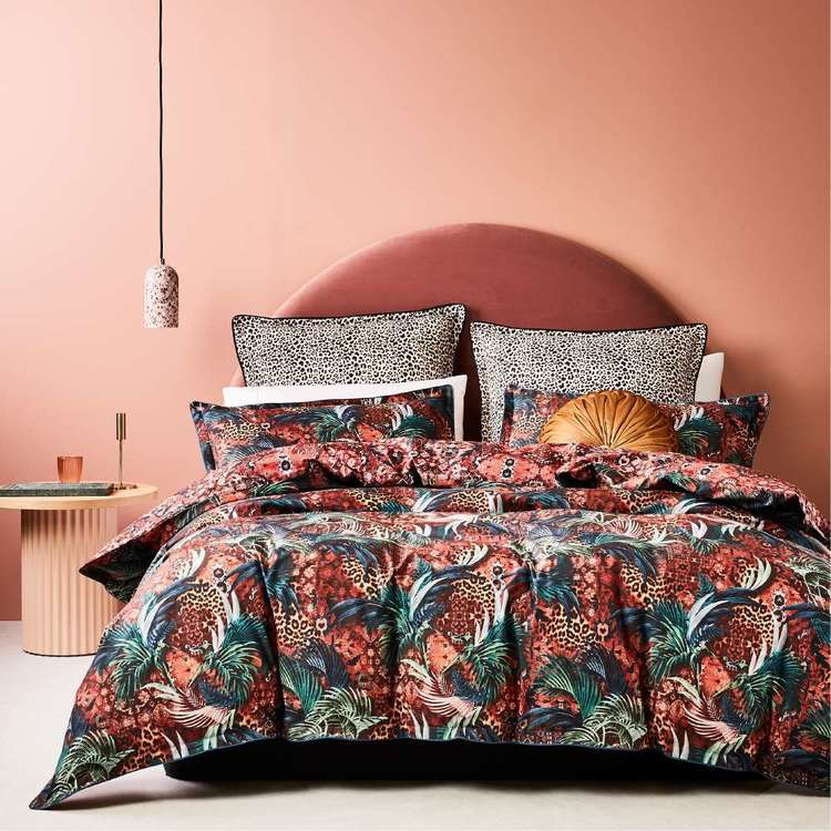 Logan and Mason Casablanca Red Quilt Cover Set