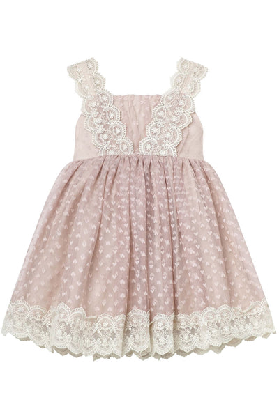 Designer Kidz Love Cynthia Lace Dress