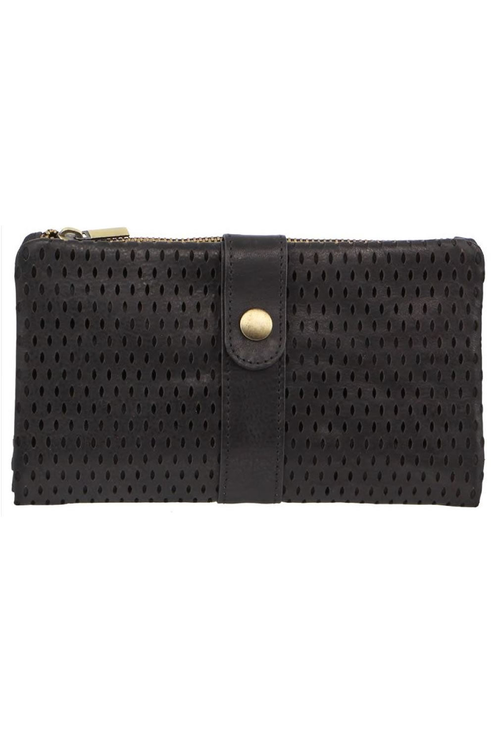 Pierre Cardin Perforated Leather RFID Wallet