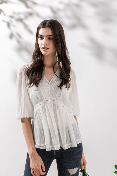 GDS Giulia Embroidery Blouse