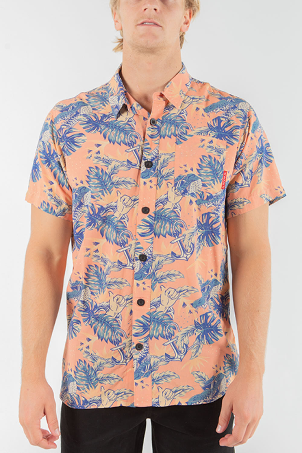 The Mad Hueys Big Croc Short Sleeve Shirt