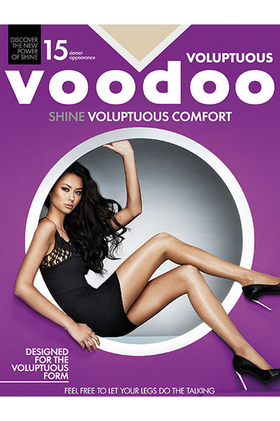 Voodoo Shine Voluptuous Comfort Sheers 15 Denier