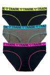Tradie Lady 3 Pack Bikini Briefs