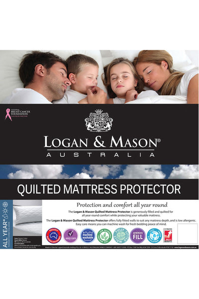 Logan and Mason Mattress Protector
