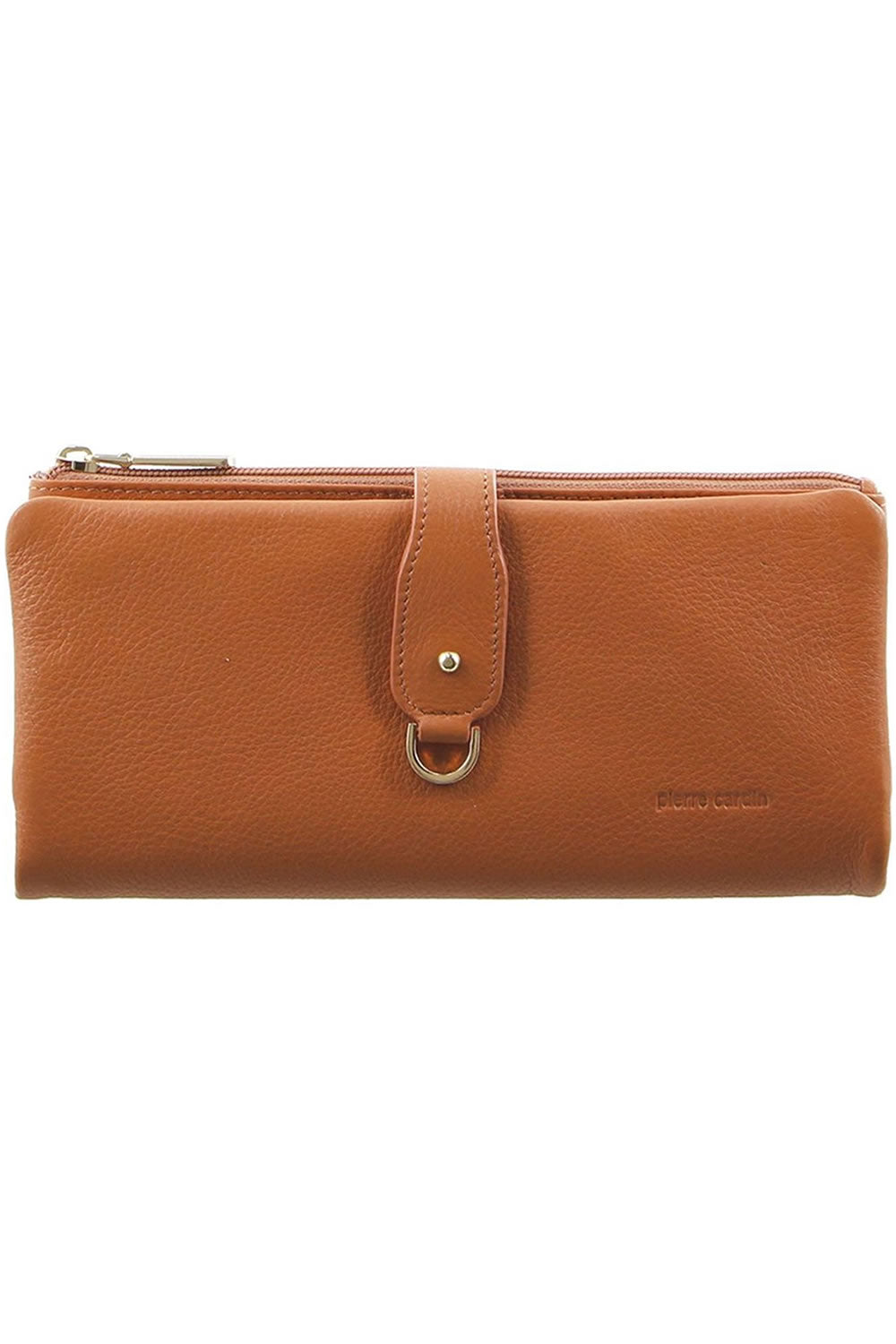 Pierre Cardin Passport Leather Wallet