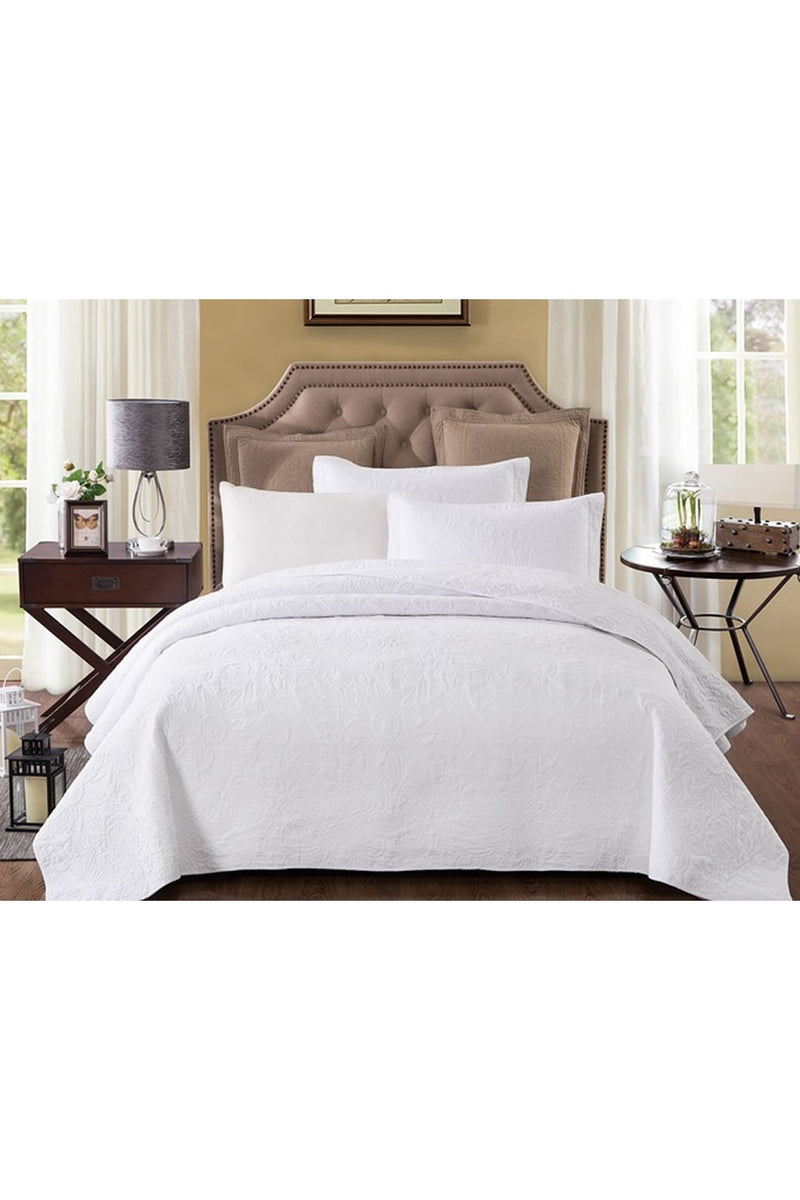 Classic Quilts Pure White Quilt
