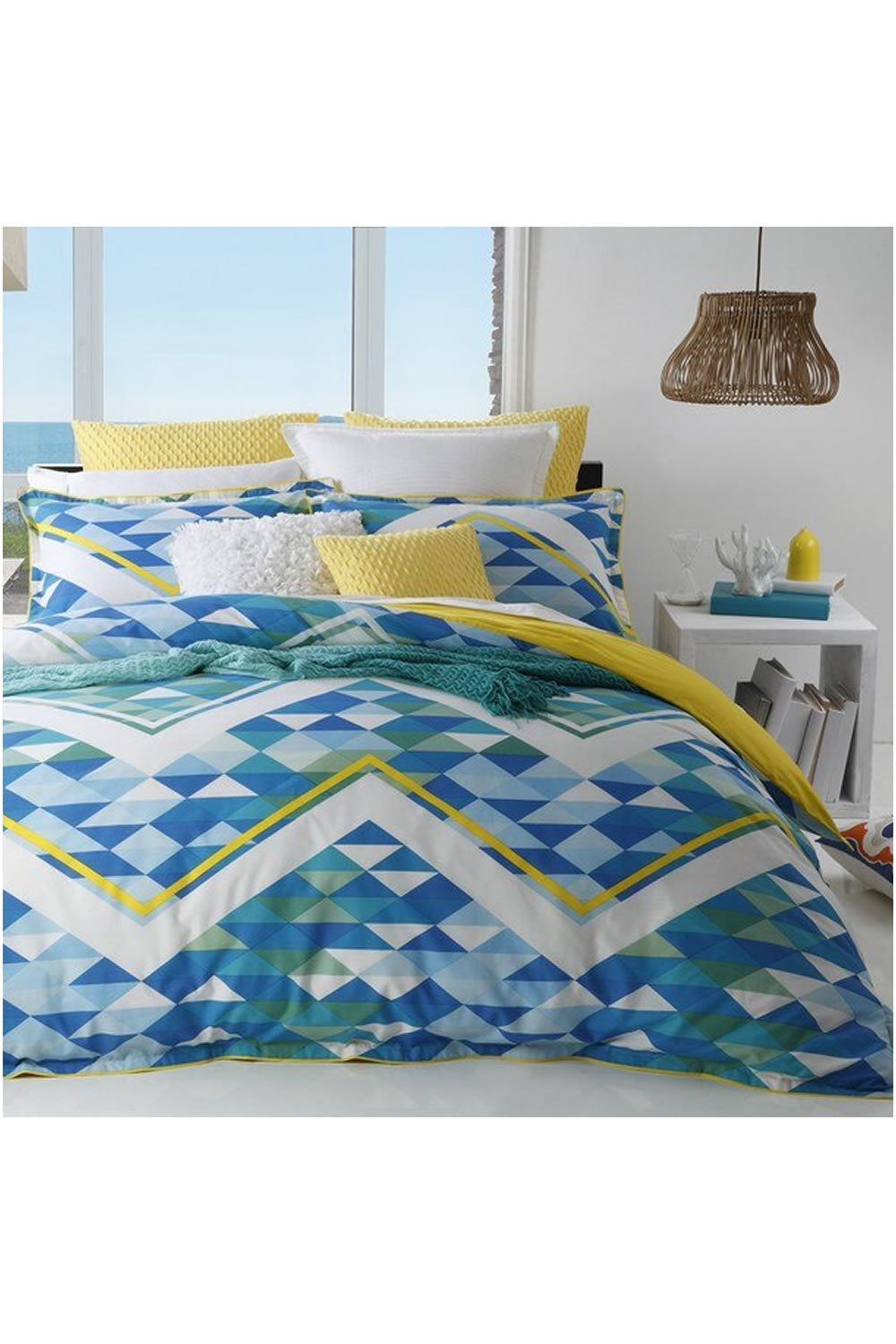 Logan and Mason Queenscliff Quilt Cover Set