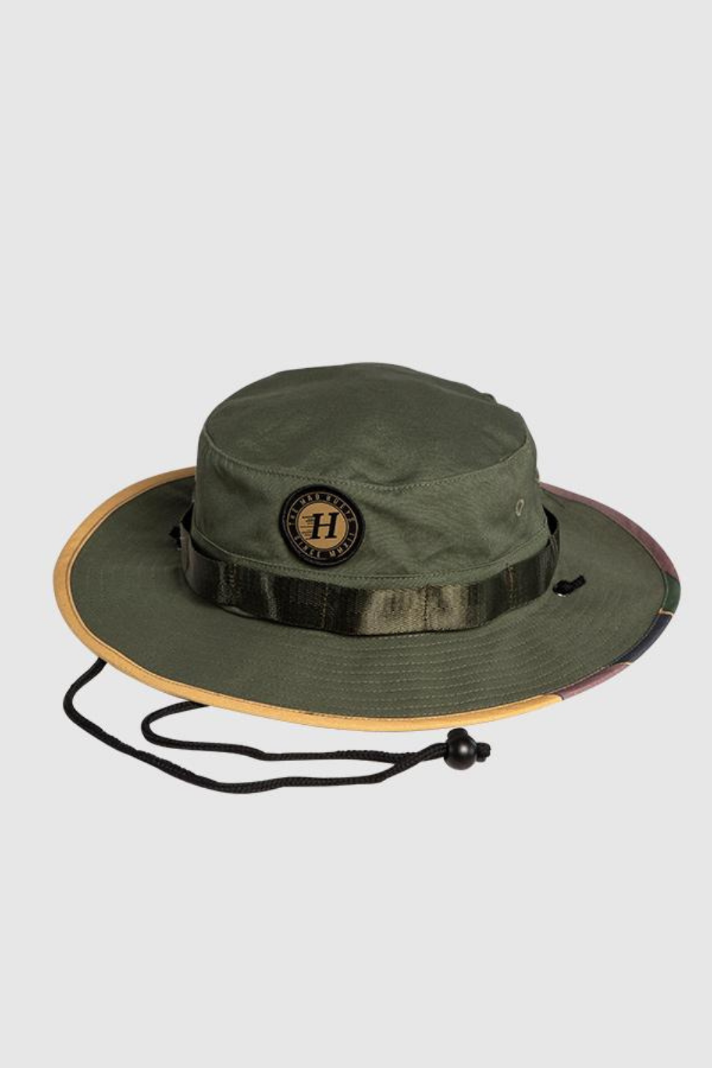 The Mad Hueys Flying H Fishing Wide Brim Hat