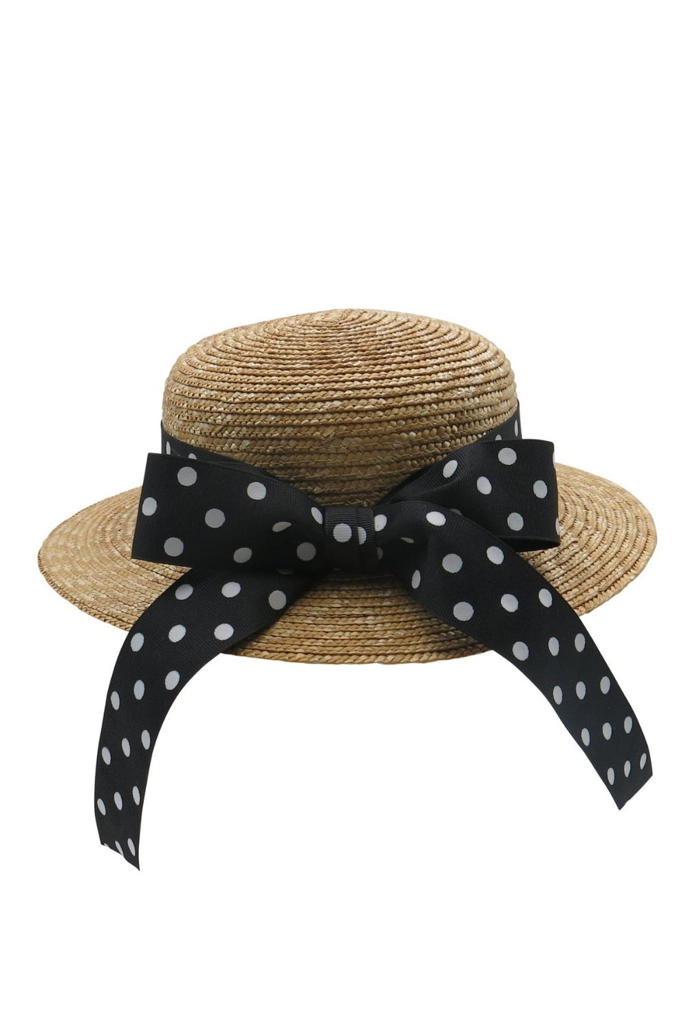 Morgan & Taylor Kids Eleni Straw Boater