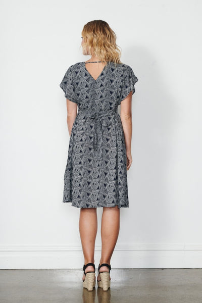 Holmes & Fallon Belted Dress