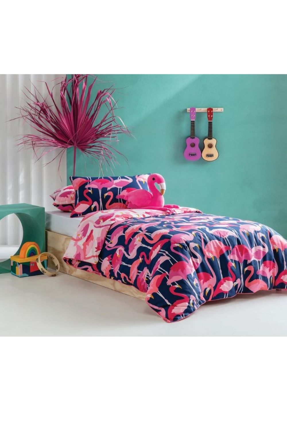 Kas Flamboyant Quilt Cover Set