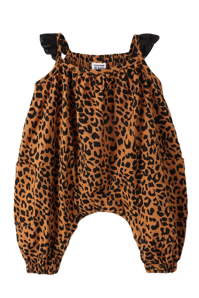 Cracked Soda Ciao Bella Leopard Jumpsuit