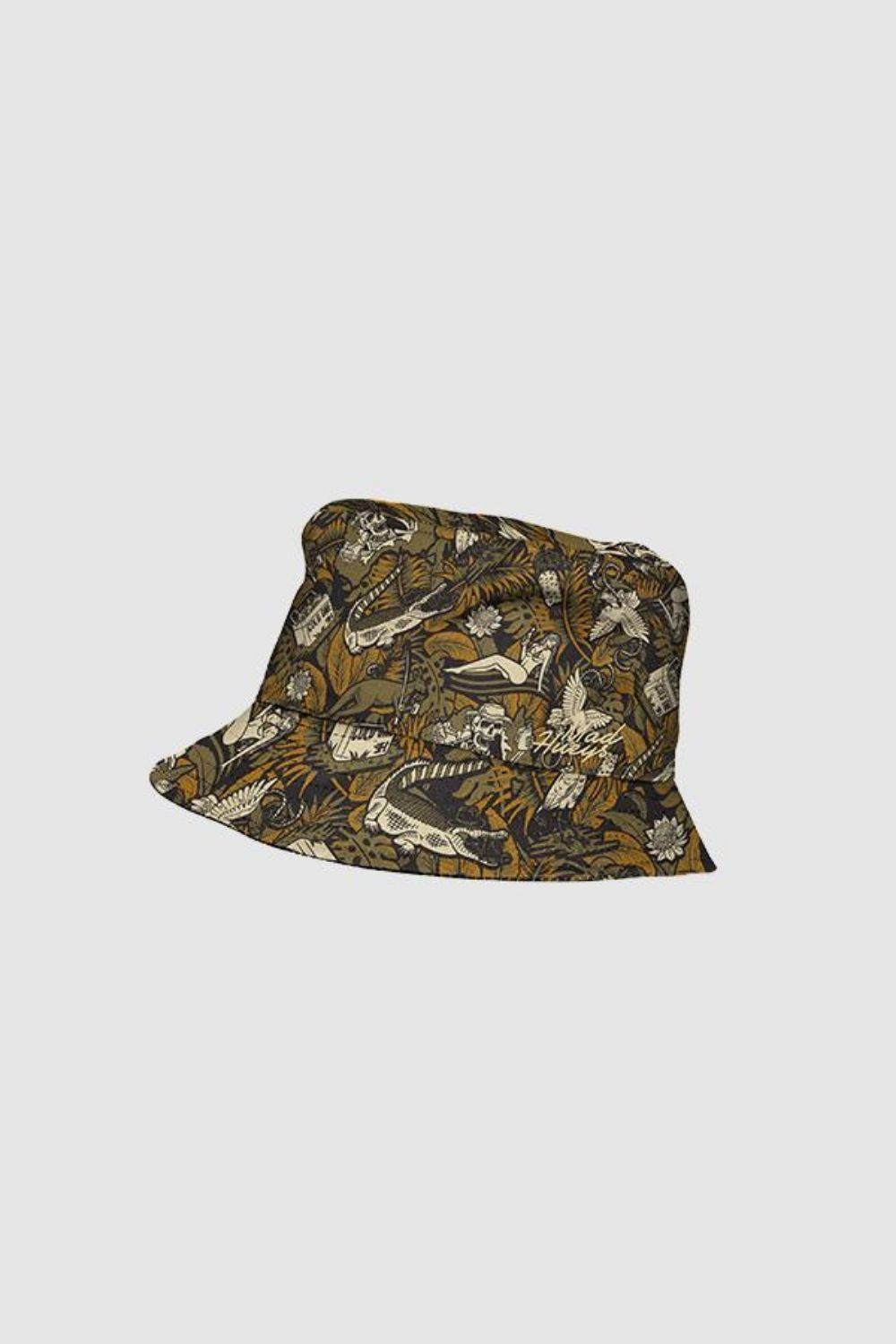 The Mad Hueys Straya Reversible Bucket Hat