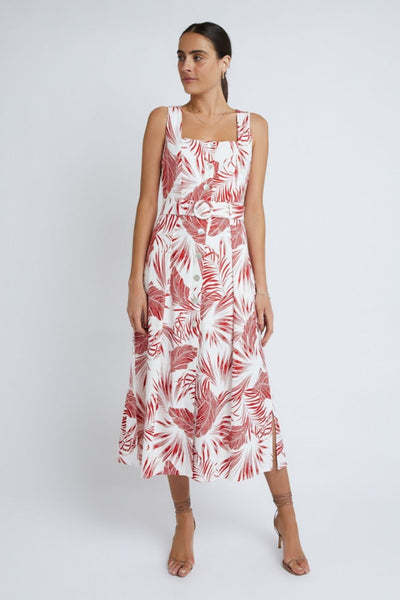 Staple The Label Paloma Belted Midi Dress