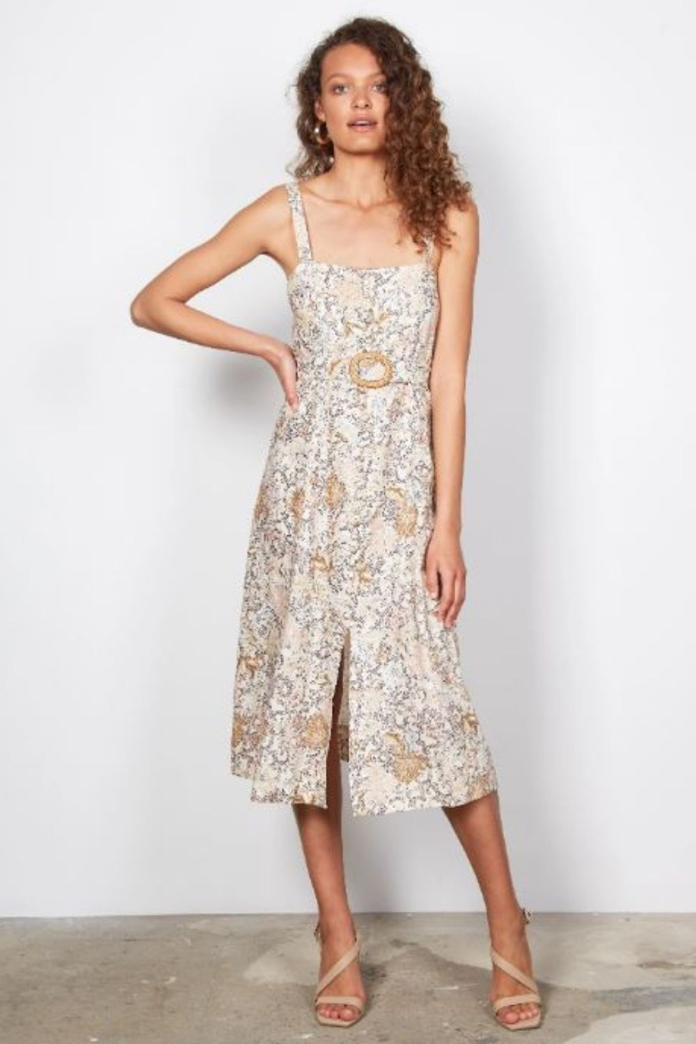 Wish Enchanting Midi Dress