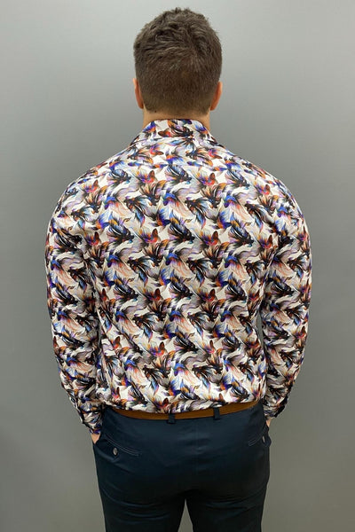 AK Demire Fighting Fish Long Sleeve Shirt