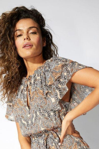 Mink Pink Kelsey Paisley Mini Dress