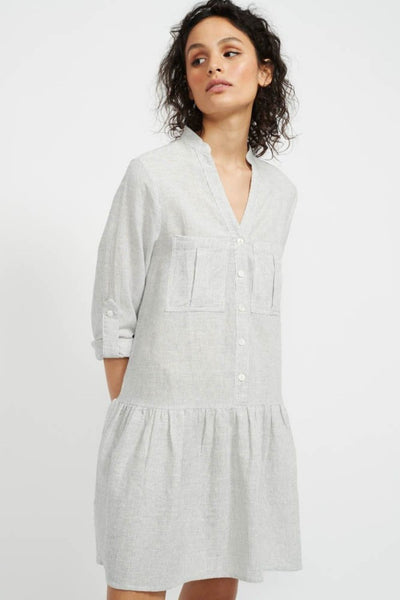 Staple The Label Adrift Mini Shirt Dress