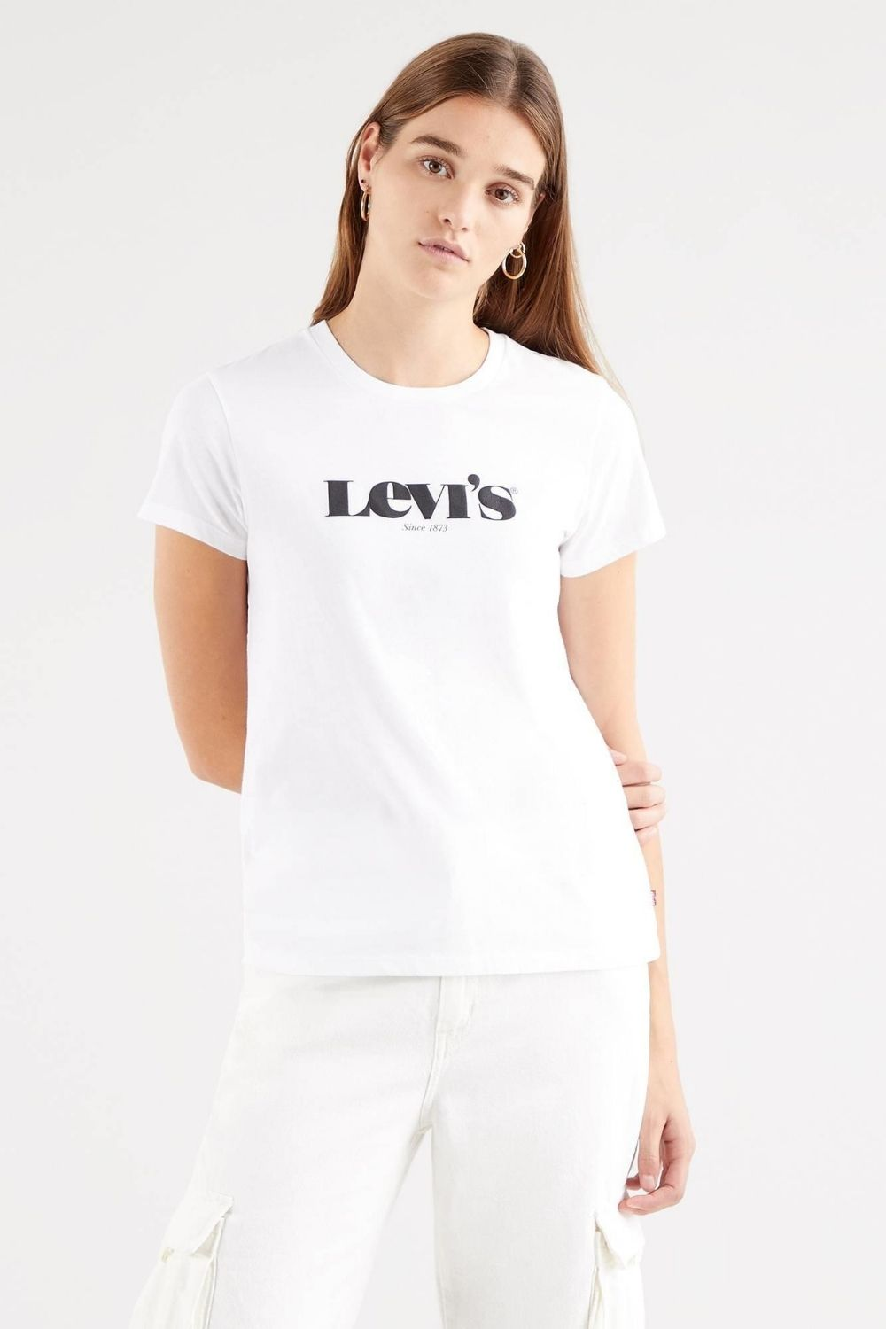 Levi Perfect New Logo Tee (Plus Size)