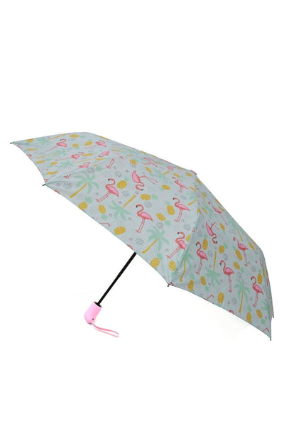 Gabee Flamingo Compact Umbrella