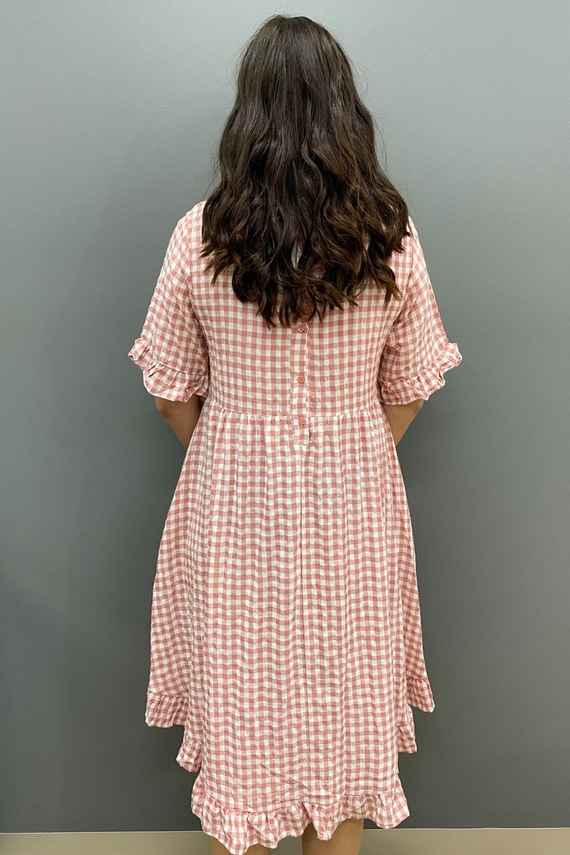 Worthier Check Dress