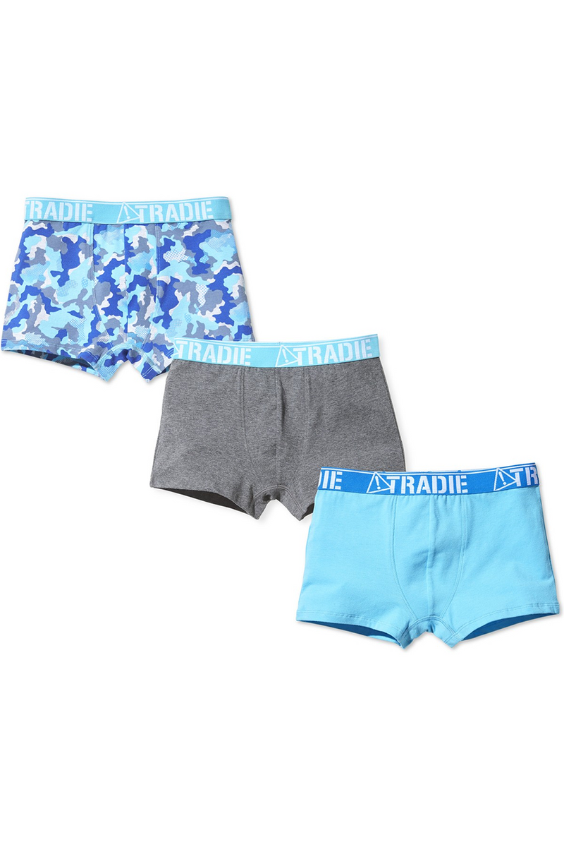 Tradie Boys 3 Pack Trunk