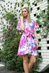 3rd Love Ruffle Print Dress