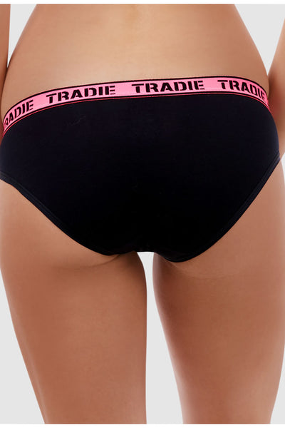 Tradie Lady Curve 3 Pack Bikini Briefs