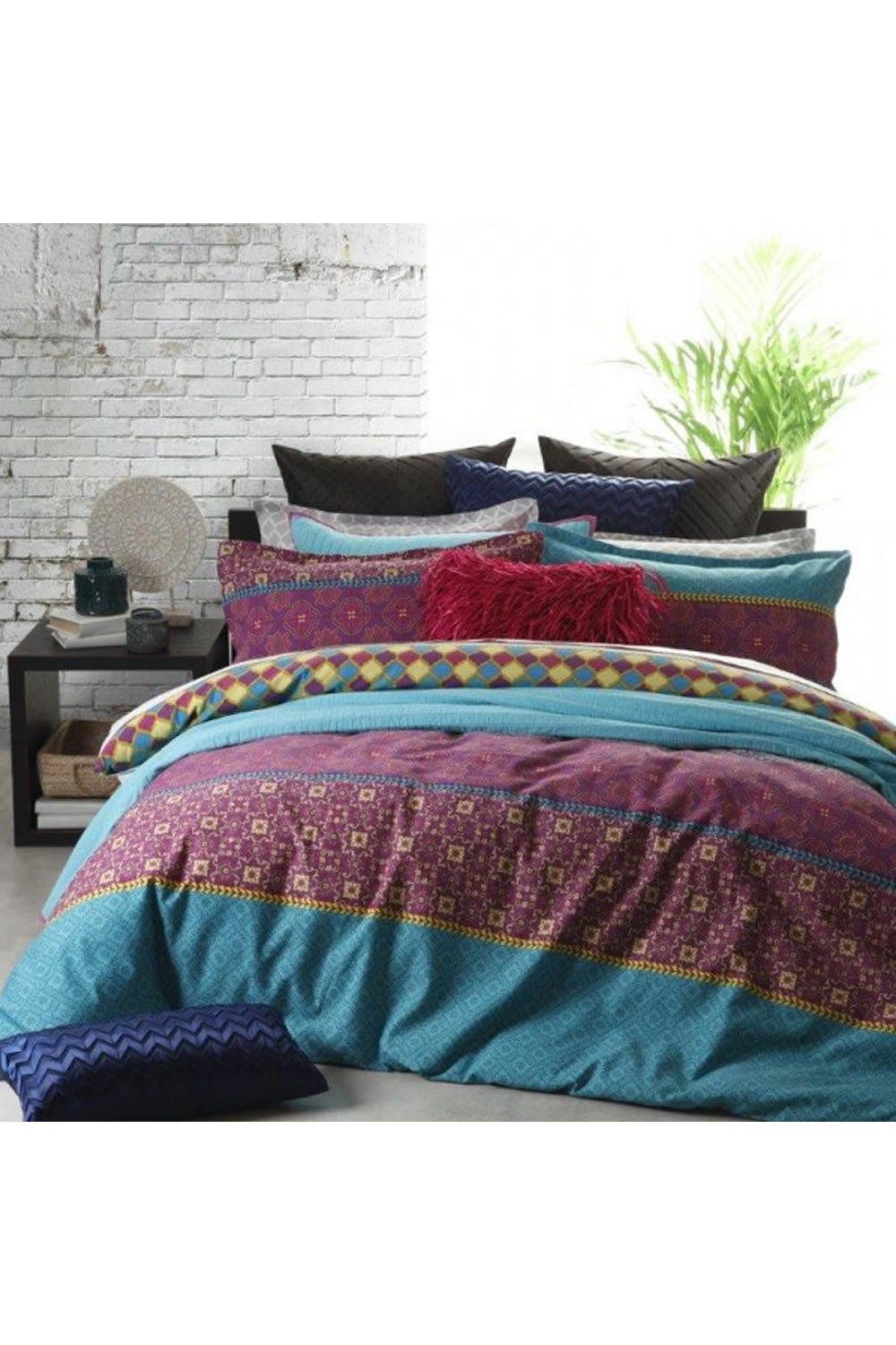 Logan and Mason Gypsy Jewel Quilt Cover Set
