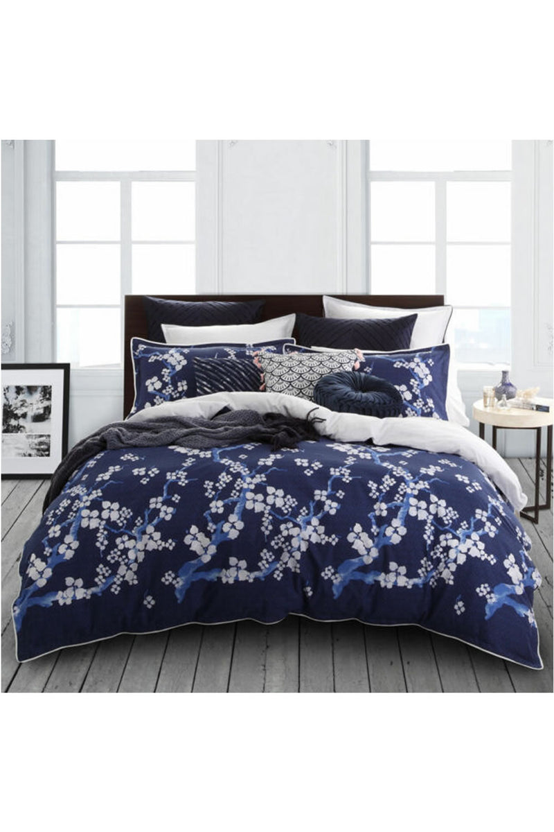 Logan and Mason Sakura Quilt Cover Set