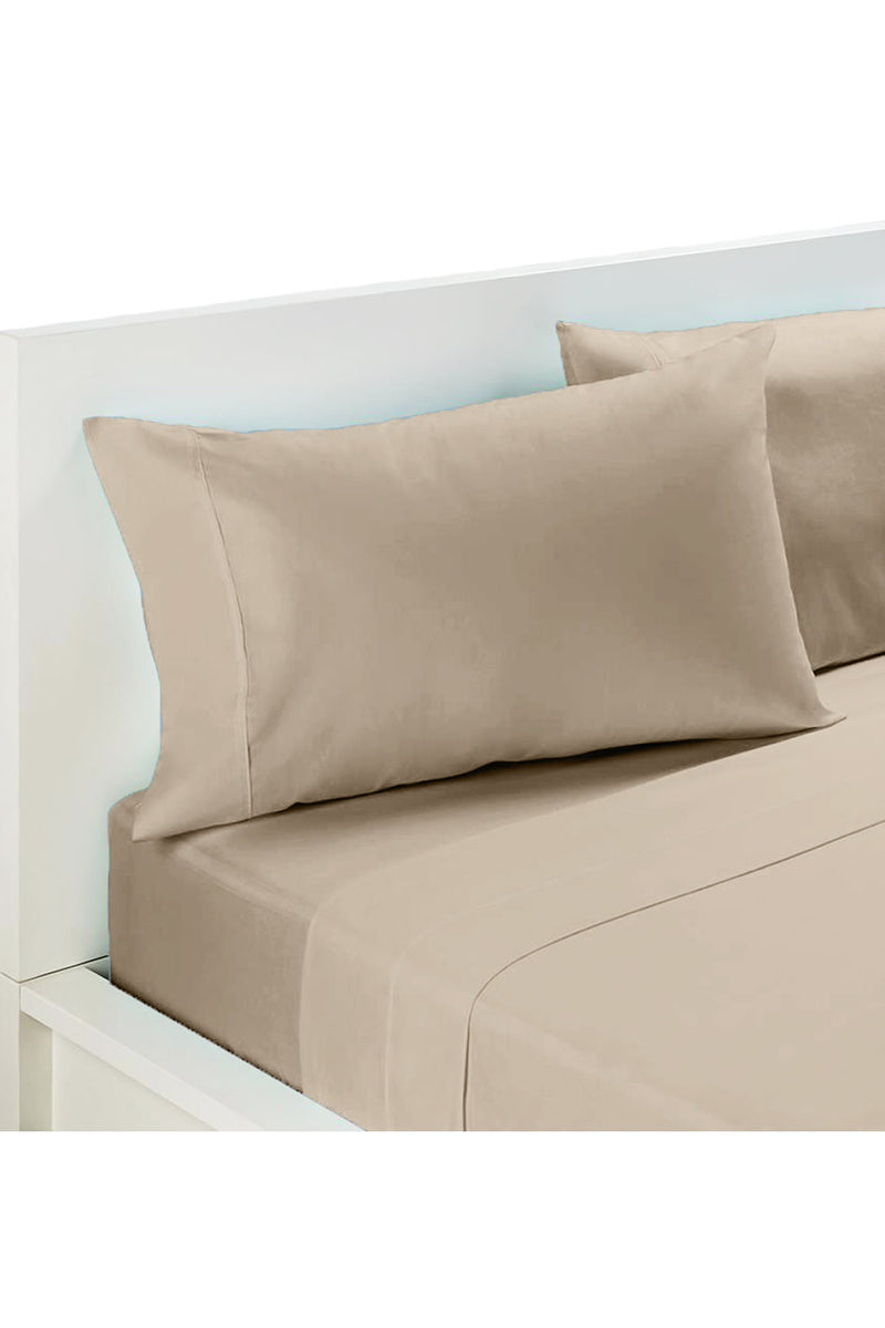 Ramesses Percale Sheet Set 50/50 Cotton Polyester